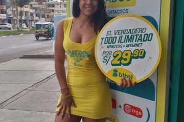 2. Venezuelan Girl working in Bitel
