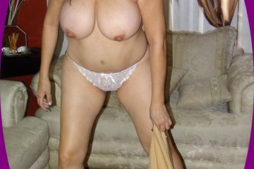 Milf with huge tits