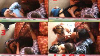 Poor venezuelan girls get money sucking on the streets