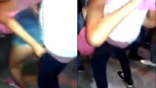 Teen who doesn't get sex in long time(lap dance Party)