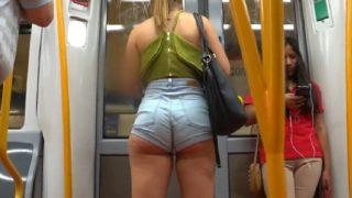 Mix ⭐ Slut girls wearing mini shorts