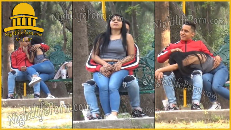 Hot teen caught in the park vip